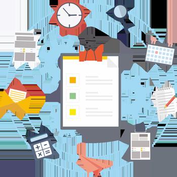 ECM система - BAS Документообіг КОРП, організація роботи з документами