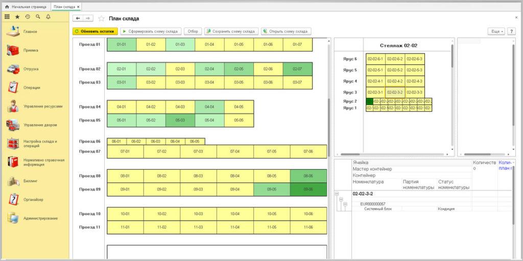 WMS система для управления складом