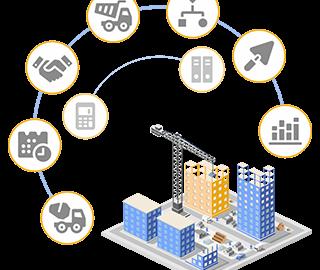 BAS Будівництво ERP - автоматизация строительной компании, программа для управления и учета строительных работ, управління будівельними проектами, Будівництво в Україні