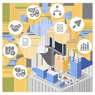 Снятие с продажи Управління будівельною організацією для України